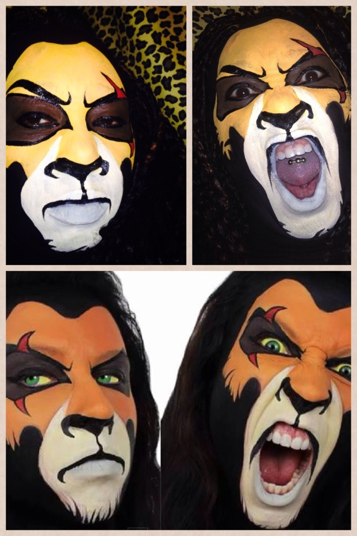 Lion King Face-Painting Challenge!