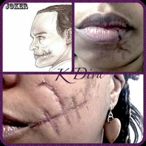 K'Diva Special FX - scar face