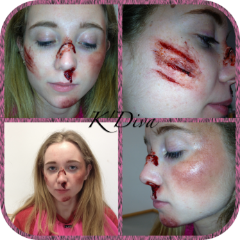 K'Diva Special FX - Scratches & Bruises