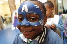 Captain America Facepaint