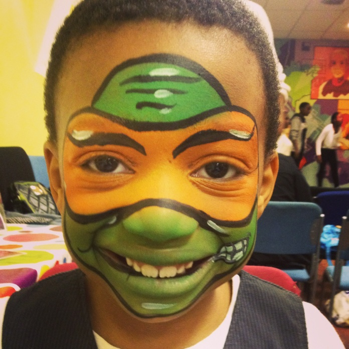 TEENAGE NINJA TURTLE Facepaint
