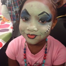 Monster High Facepaint