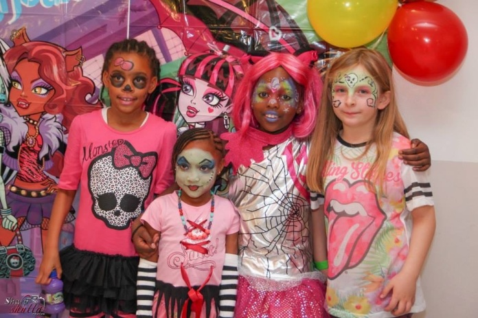 Facepaint - Monster High