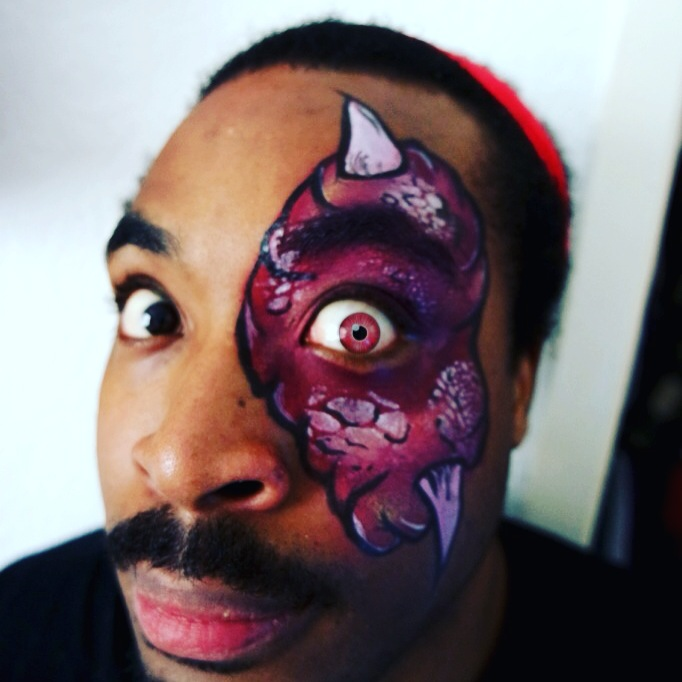 Facepaint - Monster